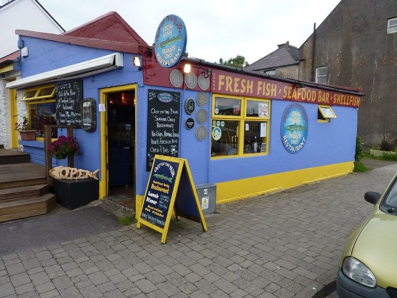 Eating fresh seafood is one of the best things to do in Dingle Ireland