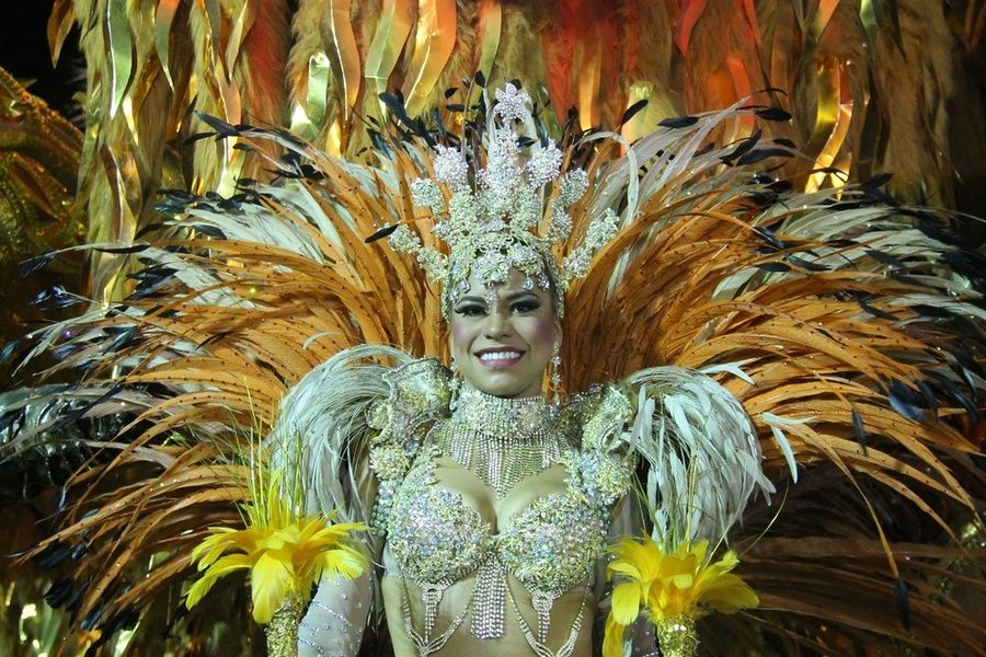 Partying at Carnival is one of the best things to do in Rio de Janeiro