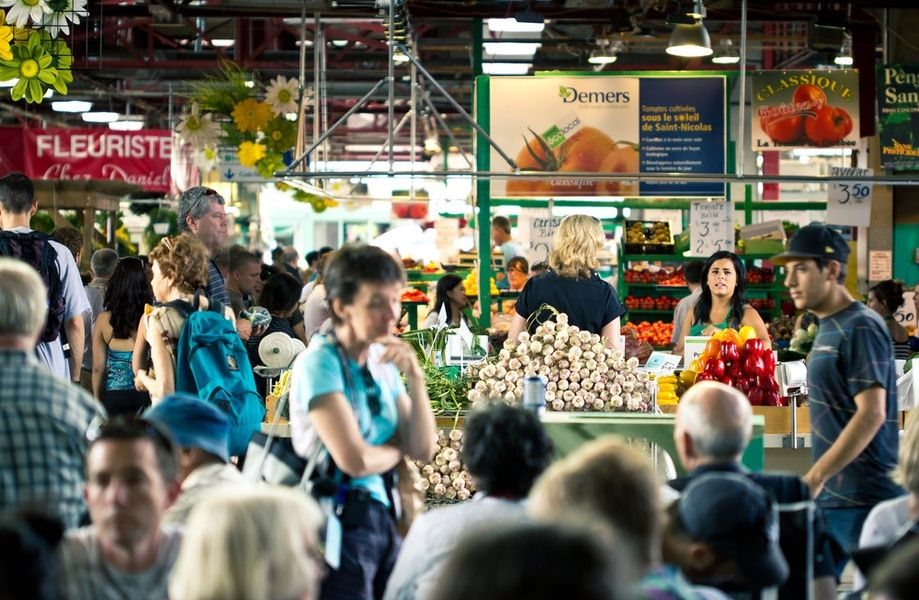 Shopping at Jean Talon market is one of the best things to do in Montreal