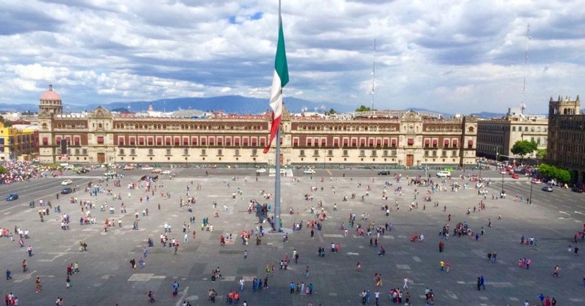 El Zocalo Mexico City Landmarks