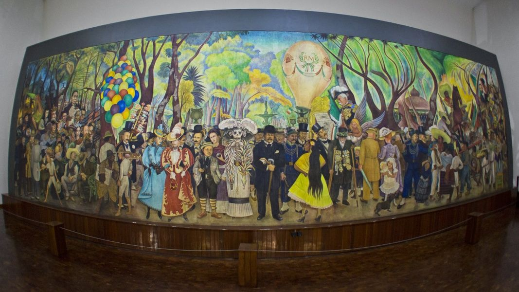 The Museo Mural Diego Rivera is definitely one of the best museums in Mexico City
