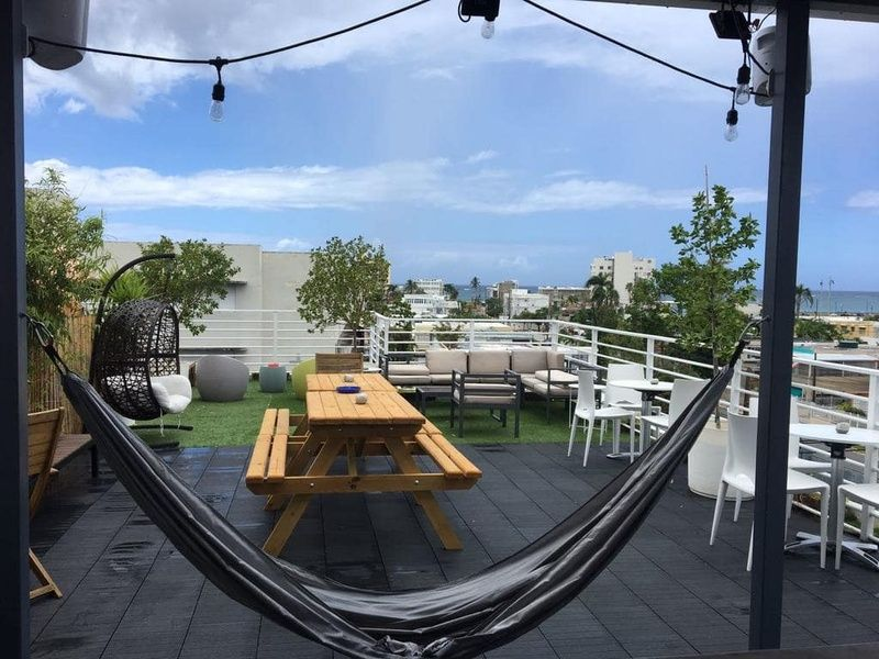 Nomada Urban Beach Hostel is a centrally located hostel in Puerto Rico