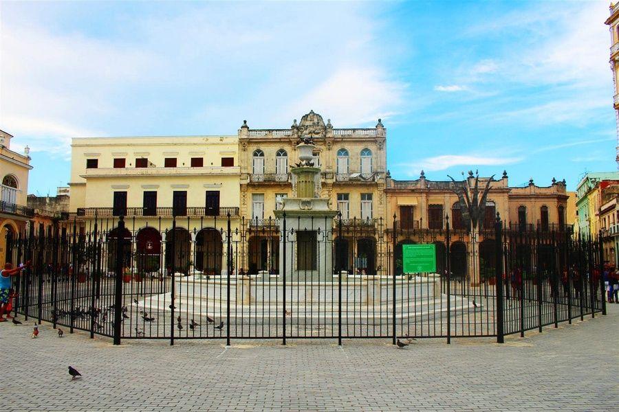 Plaza Vieja in Havana Cuba