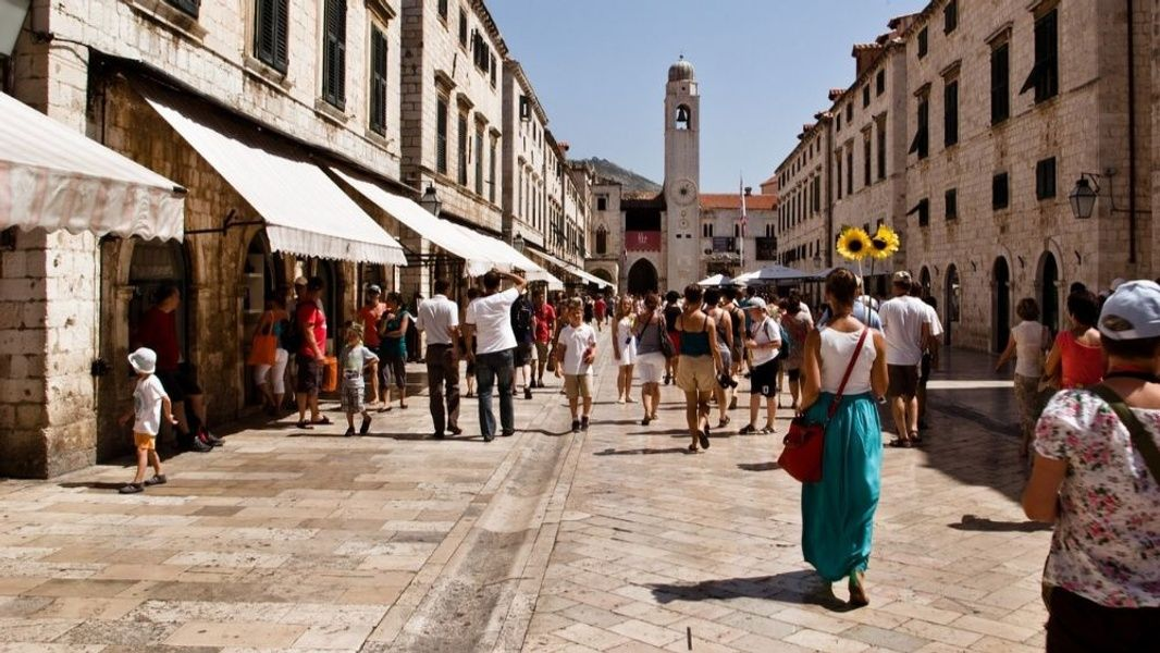 Wandering the streets of Old Dubrovnik is one of the best things to do in Croatia