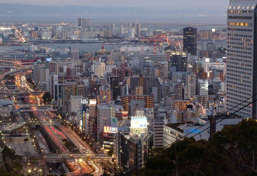 kyoto japan skyline cityscape