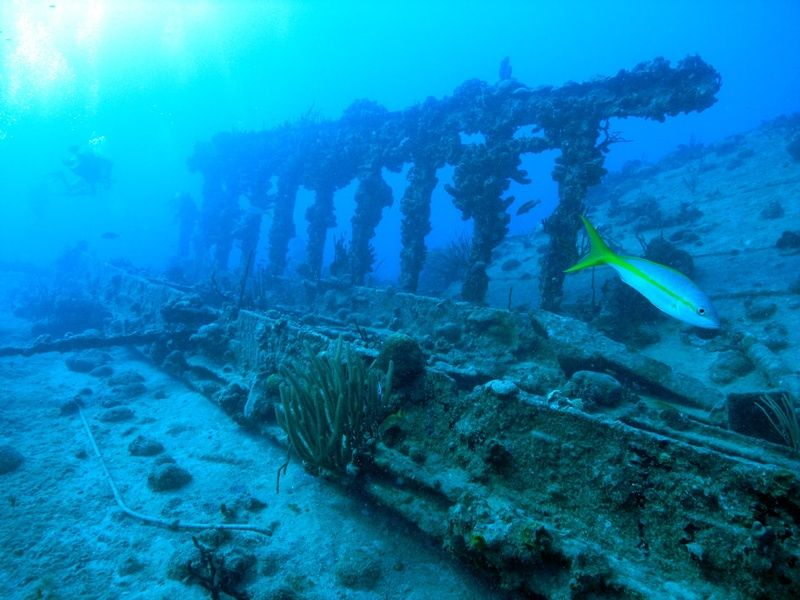 Seeing shipwrecks is one of many Puerto Rico tours