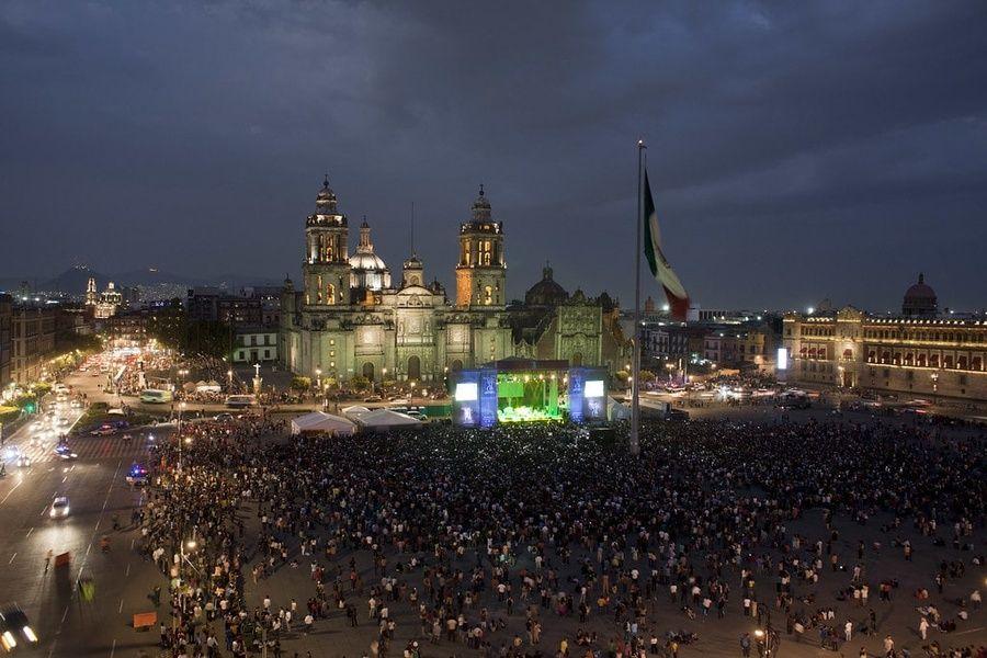El Zocalo is a Mexico City must see