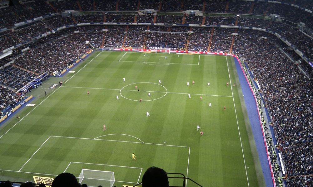 Catching a game at Estadio Santiago Bernabeu is one of the most fun things to do in Spain