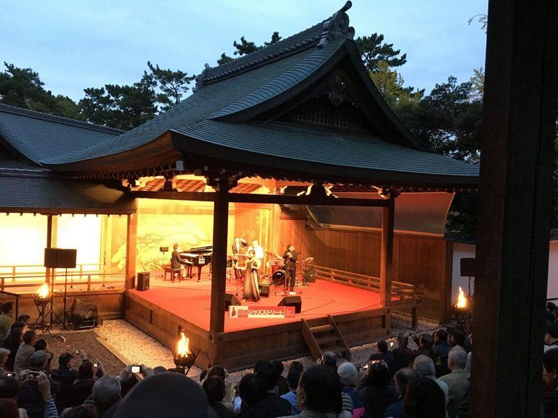 Noh Theater in Osaka Japan