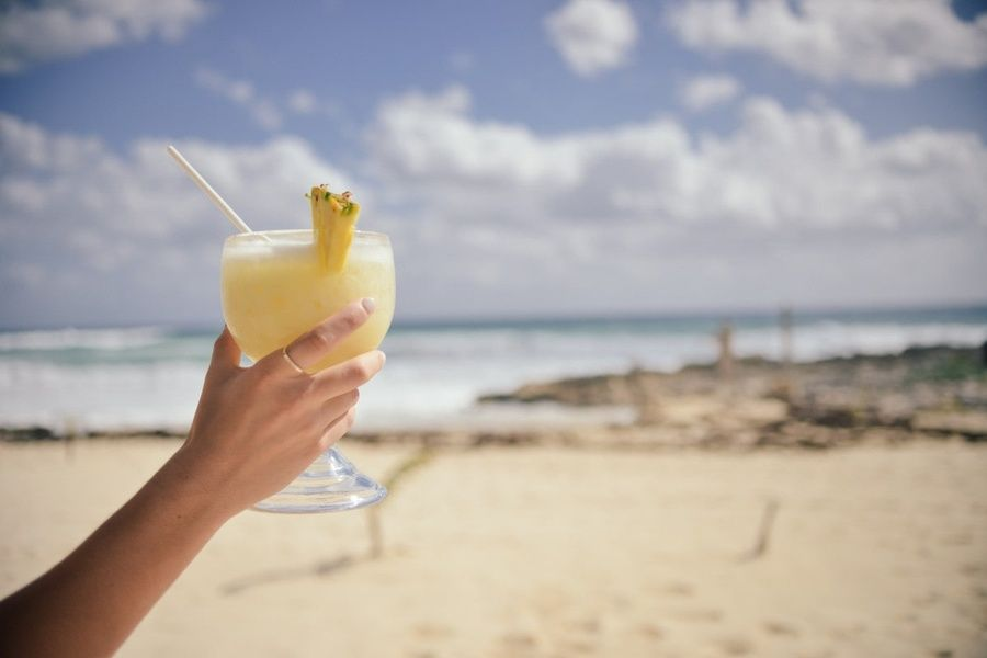 Drinking pina coladas is one of the fun things to do in san juan puerto rico