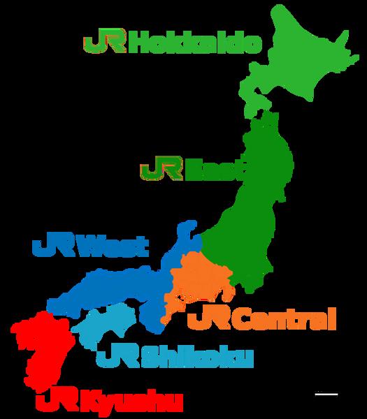 rail pass japan map