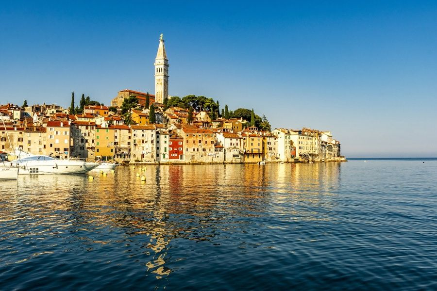 Rovinj is one of the most relaxing places to visit in Croatia