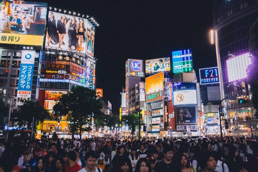 If you're wondering what to do in Tokyo in 3 days, definitely add Shibuya Crossing to your list
