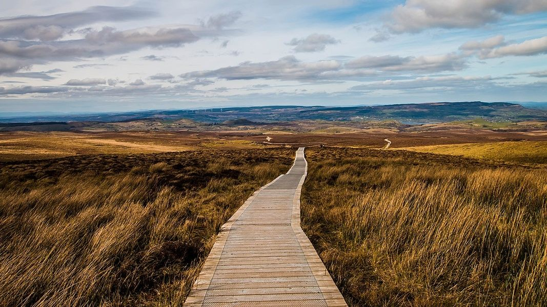 Cuilcagh Legnabrocky Trail is off the beaten path in Ireland