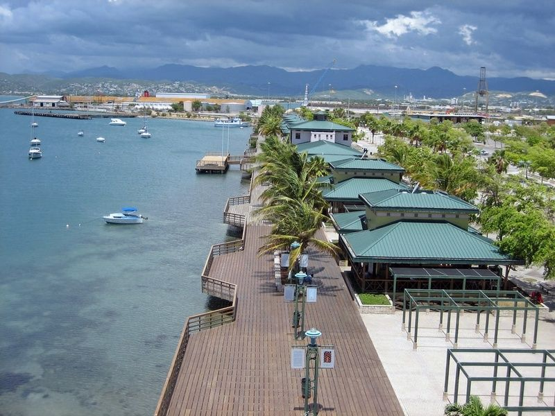 La Guancha in Ponce  is one of the best places to vacation in Puerto Rico