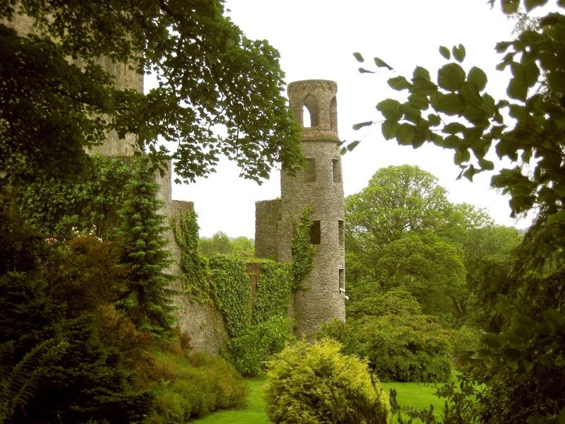A cool thing to do in Ireland is to visit Blarney Castle, and kiss the Blarney Stone