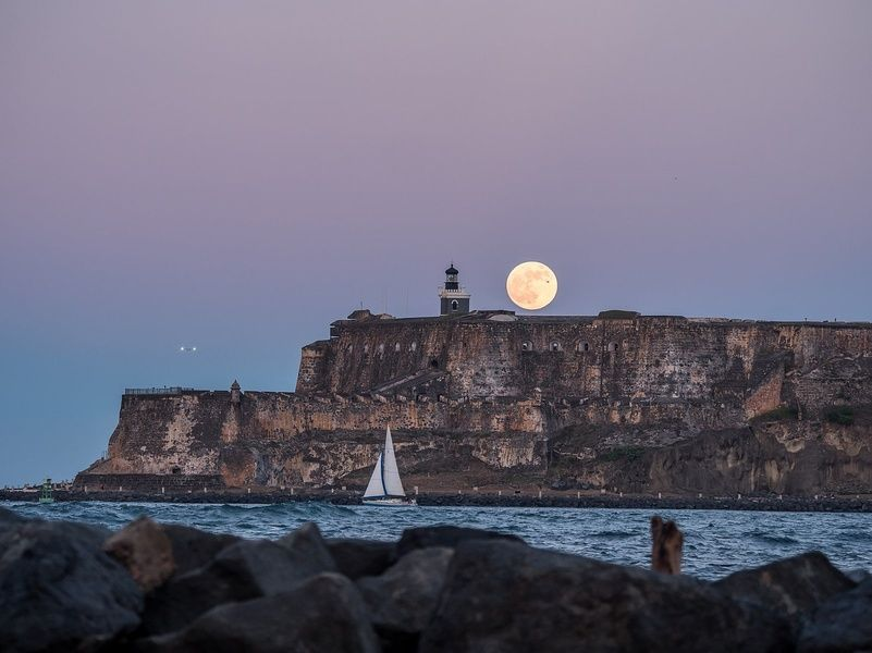 Castillo San Felipe del Morro is one of the places to go for activities in Puerto Rico