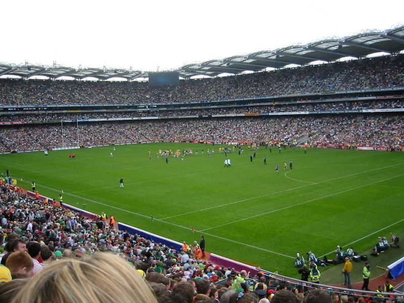 Catching a match at Croke Park is one of the top 10 things to do in Ireland