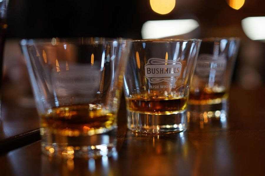 Irish whiskey is an Ireland point of interest