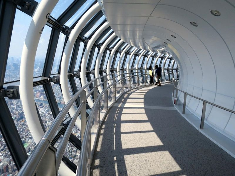 The Tokyo SkyTree is one of the best spots for Tokyo sightseeing