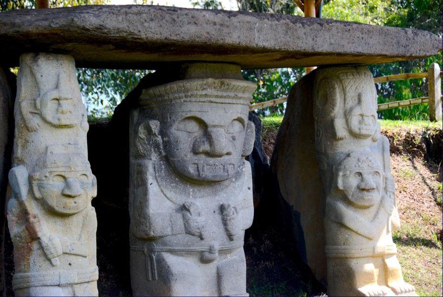san agustín archaeological park colombia
