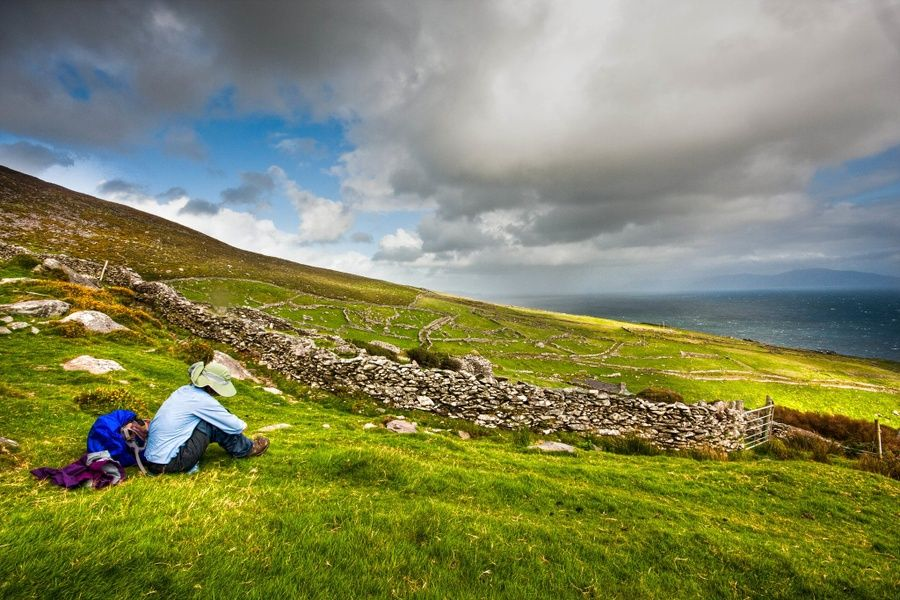 Exploring the Dingle Peninsula is one of the best things to do in Dingle Ireland