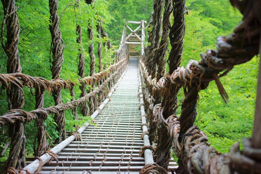 Iya No Kazura Bridge is one of the best places to visit in Japan