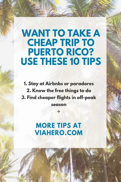 Cheap Trips to Puerto Rico PIN