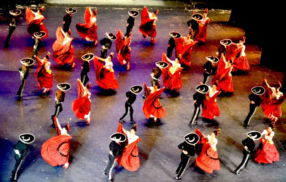 Watching Ballet Folkorico is what to do in Mexico City