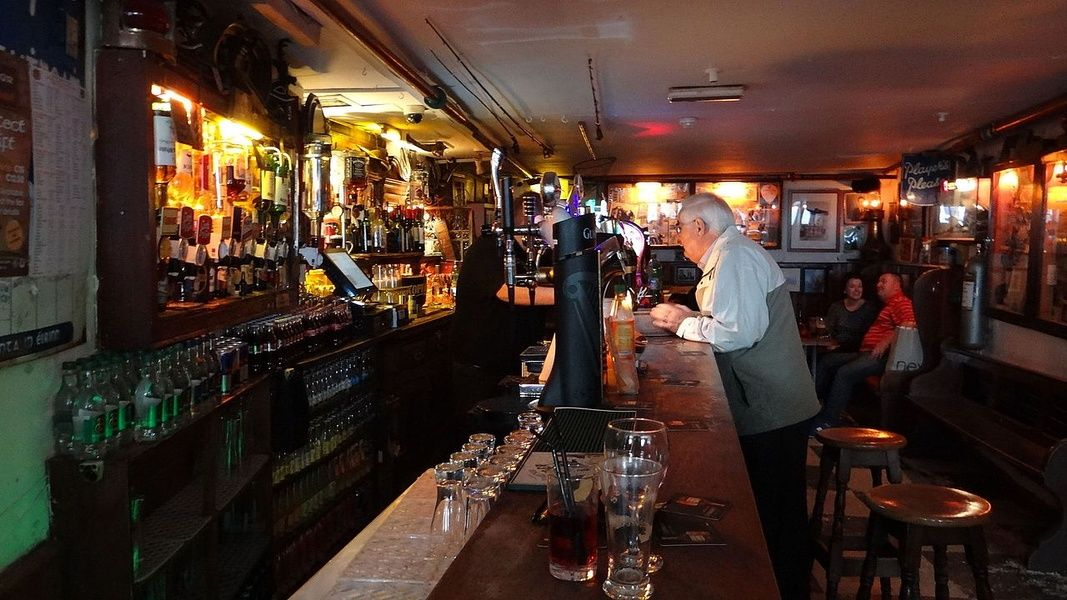 Sean's Bar is old and off the beaten path in Ireland
