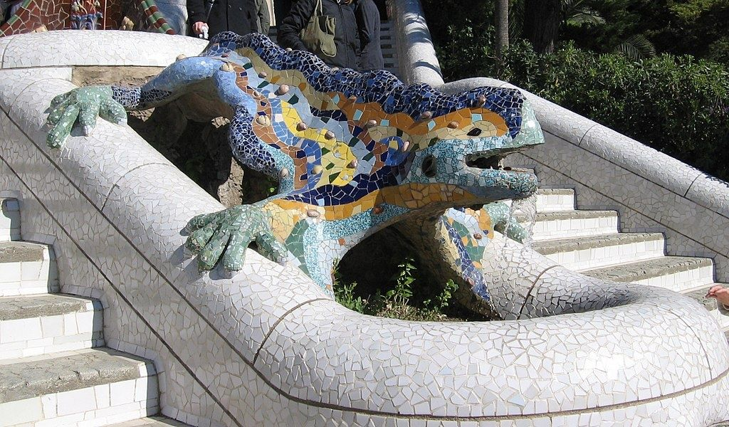 Whimsical Parque Güell is an awesome place to visit in Spain