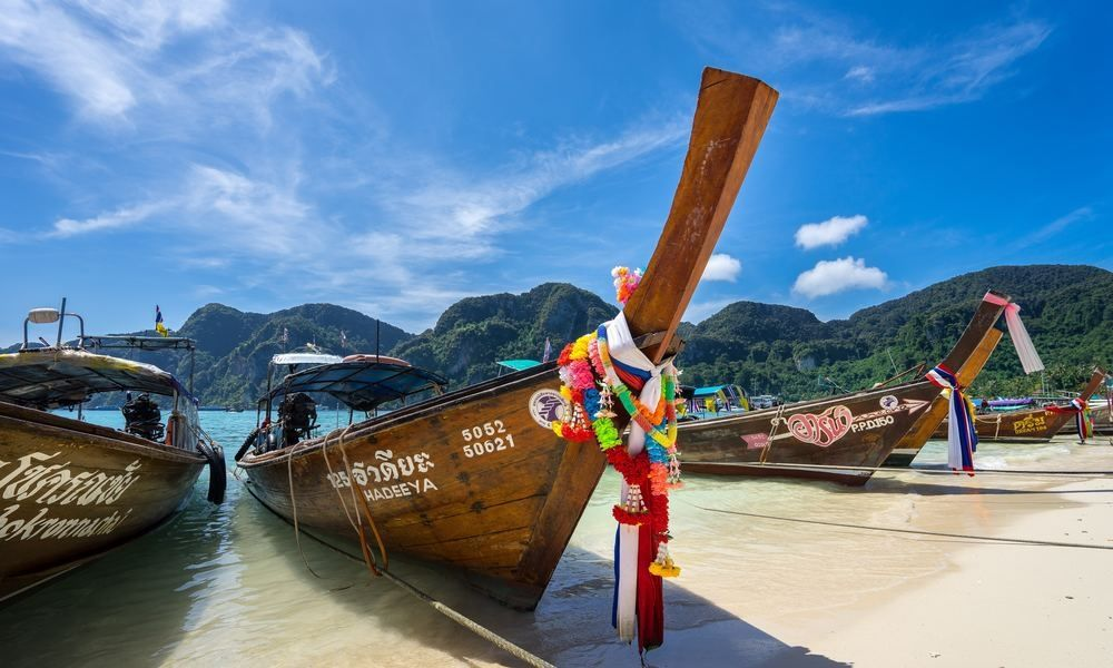 Taking a long-tail boat is one of the best things to do in Thailand