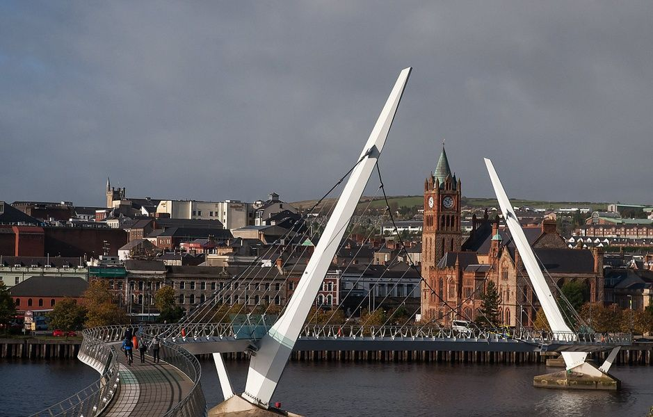 Derry is one of the best cities to visit in Ireland