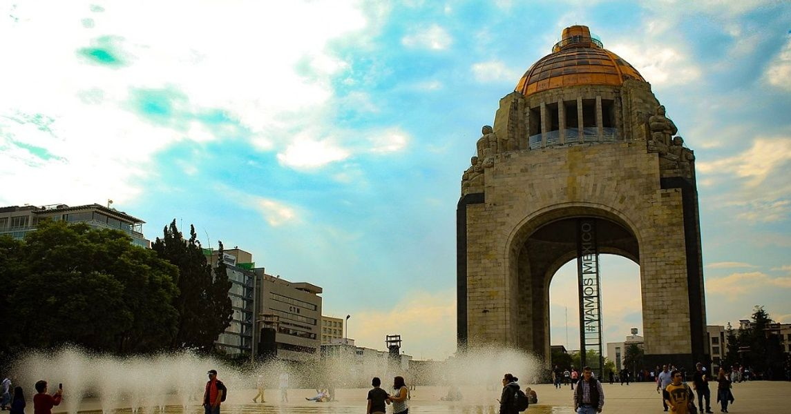 Monumento de la Revolucion Mexico City Landmarks
