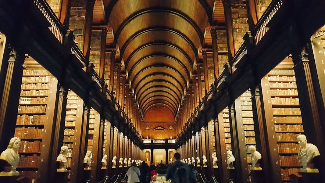 Seeing Trinity College Library is one of the top 10 things to do in Ireland
