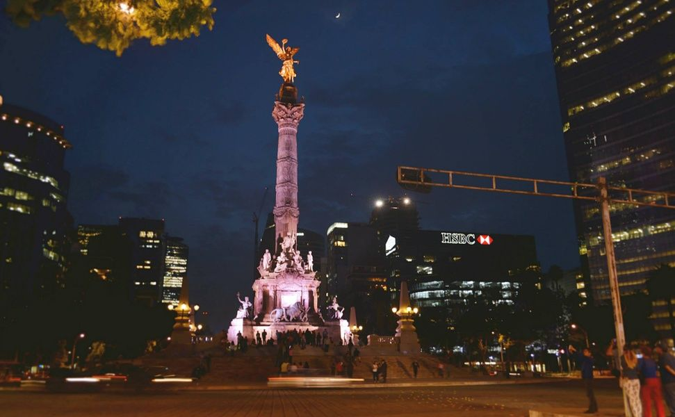 El Angel is a Mexico City must see
