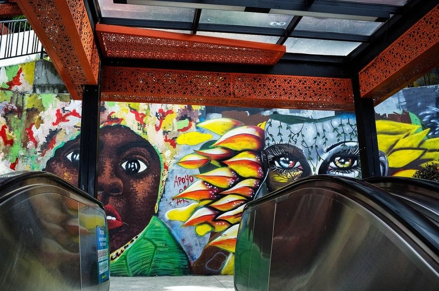 Comuna 13 is one of the best Colombia tourist attractions