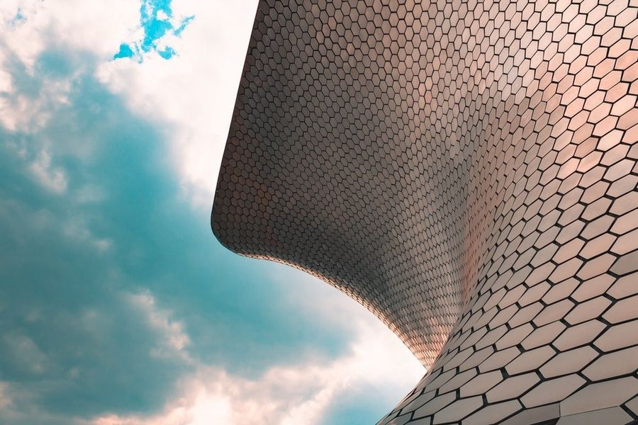 Checking out the art at Museo Soumaya is a great thing to do in Mexico City