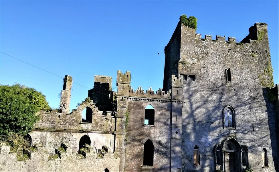 Exploring the haunted Leap Castle is a cool thing to do in Ireland