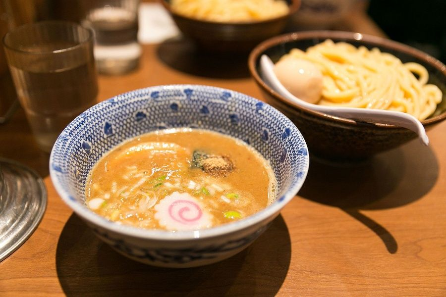 Tsukemen in hiroshima is a Japanese destination for foodies