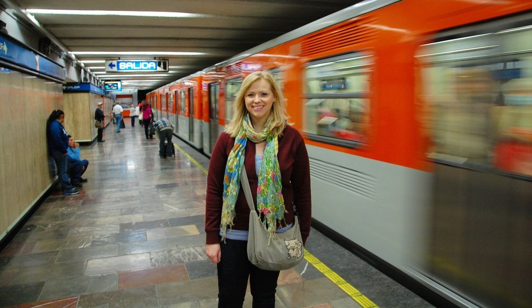 For what to wear in Mexico City on the metro, consider getting a cross-body purse