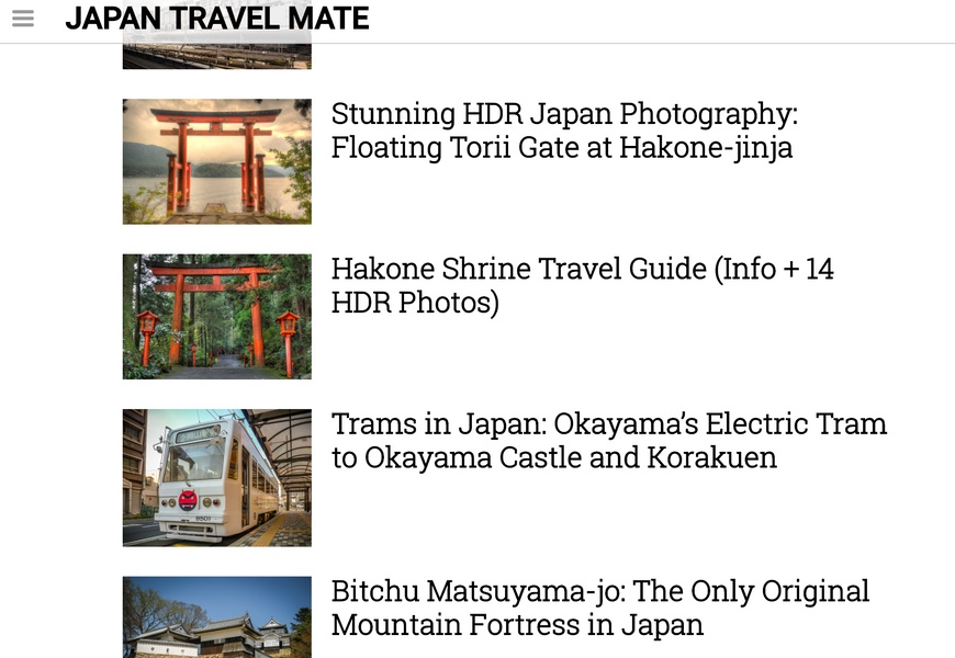 Japan Travel Mate Japan Travel Blogs