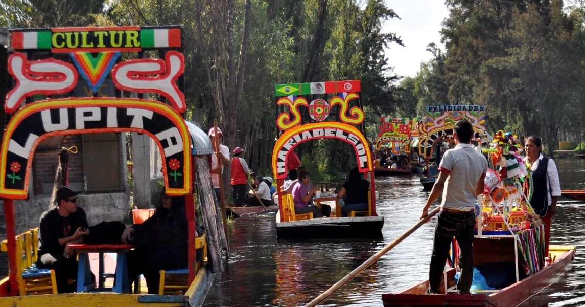 Xochimilco Places To Visit In Mexico City