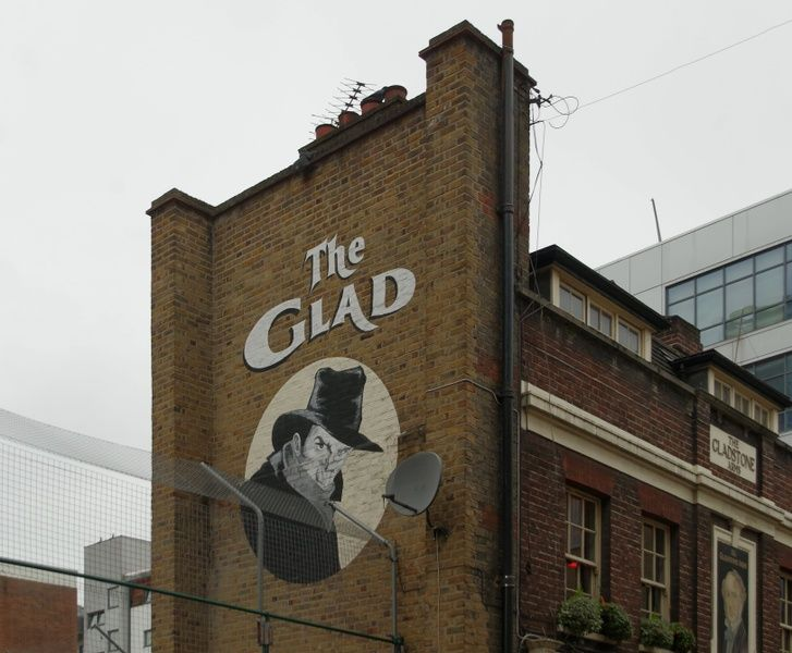 "For an authentic British ale, the ""Glad"" is an excellent place to visit in London"