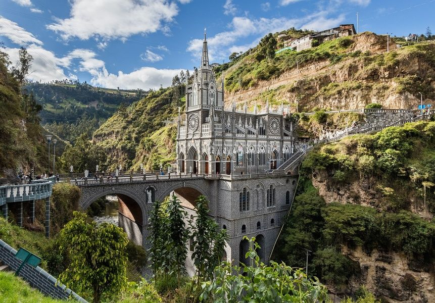 Las Lajas Things to Do in Colombia