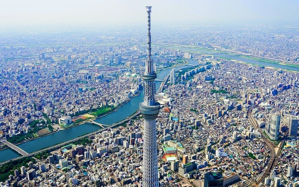 April and October is the best time to visit Tokyo Japan due to cheap flights