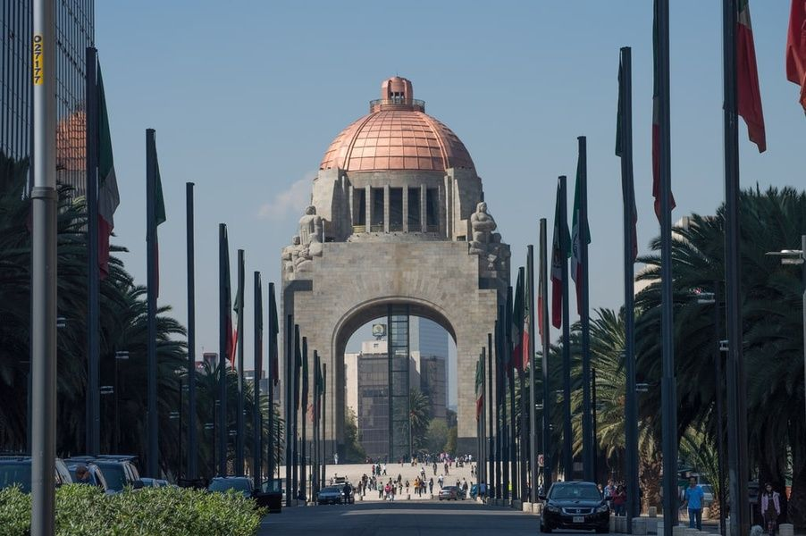 Monumento de la Revolucion  is one of the greatest Mexico City attractions