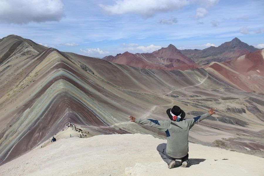 Rainbow Mountain is one of the best places to visit in Peru
