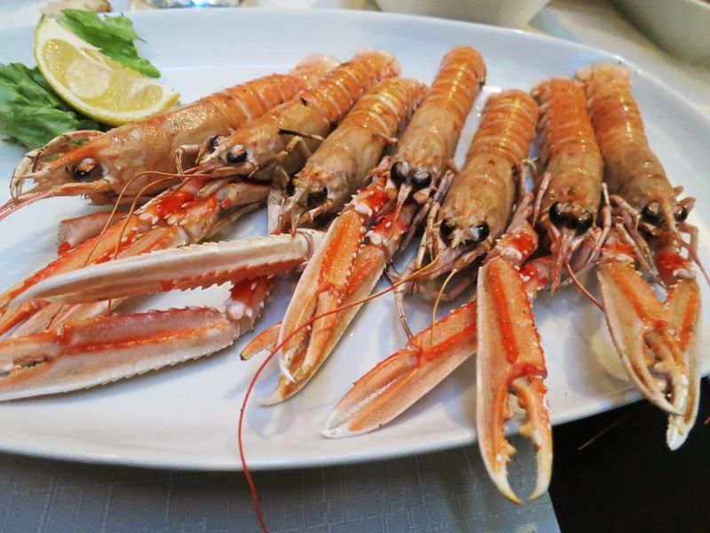 Eating seafood in Trogir is one of the best things to do in Croatia