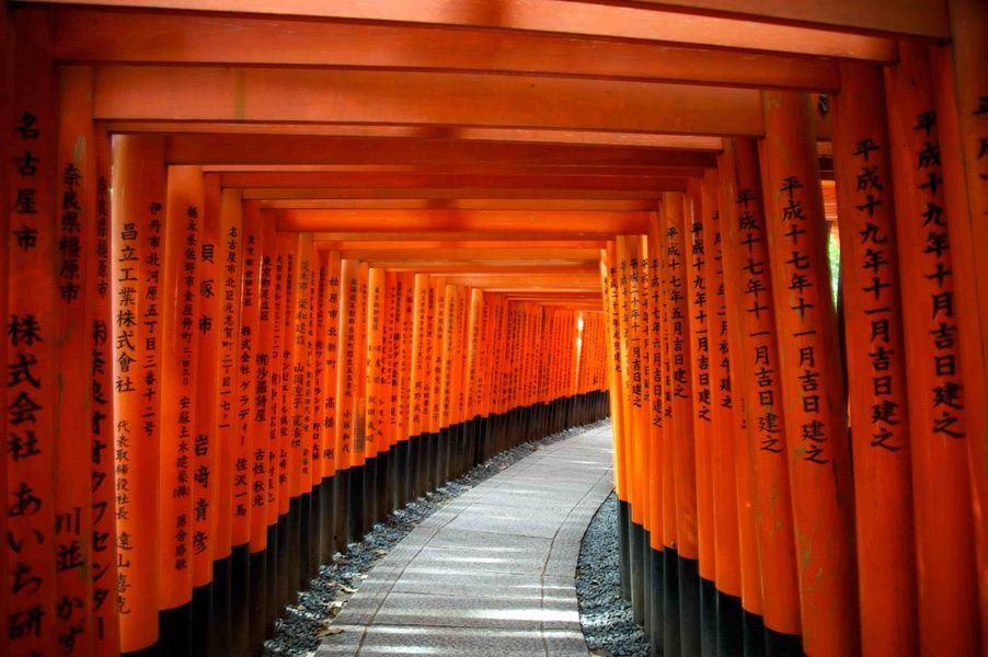 Kyoto Japan alley